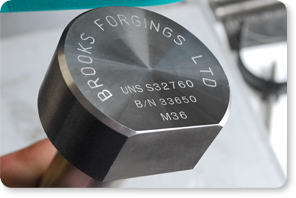 brooks forgings propen marking system