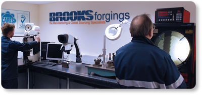 material stocks brooks forgings